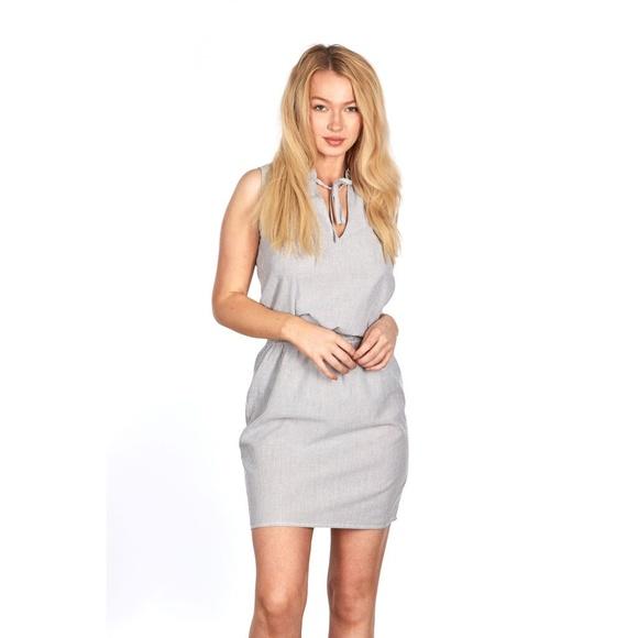 Go Coco Sleeveless Blouson Dress Plus Size NWT